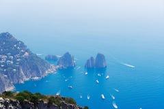 νησί Ιταλία capri στοκ εικόνες