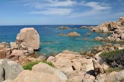 Νησί Ιταλία Paradiso Σαρδηνία πλευρών παραλιών λι Cossi Στοκ Εικόνα
