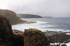 Νησί καγκουρό, αξιοπρόσεκτοι βράχοι, Νότια Αυστραλία Στοκ Εικόνες