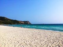 Νησί και η παραλία στοκ εικόνα με δικαίωμα ελεύθερης χρήσης