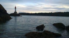 Νησί και φάρος Pender Στοκ εικόνα με δικαίωμα ελεύθερης χρήσης