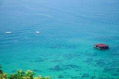 Νησί κατάδυσης Lingshui νησιών ορίου Στοκ εικόνα με δικαίωμα ελεύθερης χρήσης