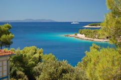 νησί κόλπων brac ήρεμο στοκ εικόνα με δικαίωμα ελεύθερης χρήσης