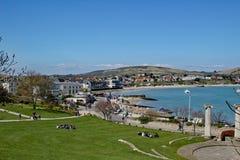 Νησί κόλπων Swanage του purbeck Dorset Στοκ Εικόνες