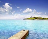 νησί Μαγιόρκα aucanada alcudia alcanada Στοκ φωτογραφία με δικαίωμα ελεύθερης χρήσης