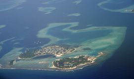 νησί Μαλβίδες Στοκ φωτογραφία με δικαίωμα ελεύθερης χρήσης