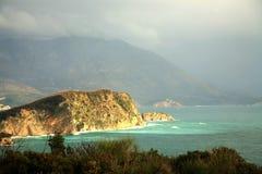 νησί Μαυροβούνιο budva πλησίο&n Στοκ φωτογραφία με δικαίωμα ελεύθερης χρήσης