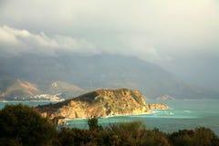 νησί Μαυροβούνιο budva πλησίο&n Στοκ εικόνες με δικαίωμα ελεύθερης χρήσης
