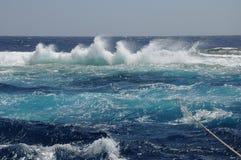 Νησί Μεγάλων Αδερφών στη Ερυθρά Θάλασσα Στοκ Φωτογραφίες