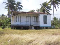 Νησί Νικαράγουα Κεντρική Αμερική καλαμποκιού σπιτιών στοκ φωτογραφία με δικαίωμα ελεύθερης χρήσης