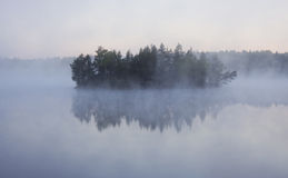 νησί ομίχλης στοκ εικόνες