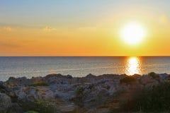 νησί πέρα από την ανατολή θερέ&t Στοκ φωτογραφία με δικαίωμα ελεύθερης χρήσης