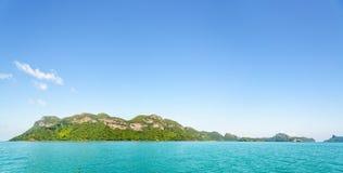 Νησί πανοράματος στην Ταϊλάνδη Στοκ εικόνες με δικαίωμα ελεύθερης χρήσης