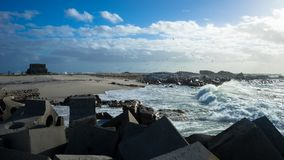 Νησί πουλιών στον κόλπο Lambert Στοκ φωτογραφία με δικαίωμα ελεύθερης χρήσης