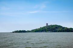 Νησί σεντ λιμνών Taihu Yuantouzhu Taihu Wuxi Στοκ φωτογραφία με δικαίωμα ελεύθερης χρήσης