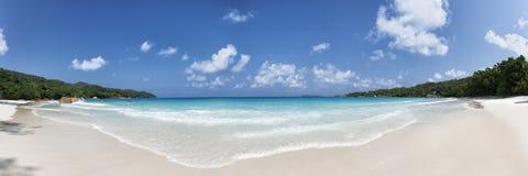 Νησί Σεϋχέλλες praslin παραλιών του Λάτσιο Anse Στοκ εικόνες με δικαίωμα ελεύθερης χρήσης