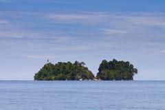 Νησί στην καραϊβική ακτή της Κόστα Ρίκα Στοκ εικόνες με δικαίωμα ελεύθερης χρήσης