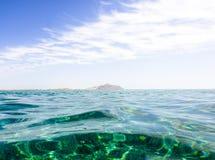 Νησί στη Ερυθρά Θάλασσα Στοκ εικόνες με δικαίωμα ελεύθερης χρήσης