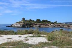 Νησί στον ήλιο Στοκ Φωτογραφίες