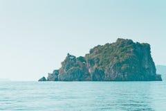 Νησί στον κόλπο της Ταϊλάνδης Στοκ φωτογραφίες με δικαίωμα ελεύθερης χρήσης
