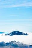 Νησί στον ουρανό Στοκ Εικόνες
