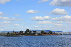 Νησί στο Βορρά Στοκ φωτογραφία με δικαίωμα ελεύθερης χρήσης