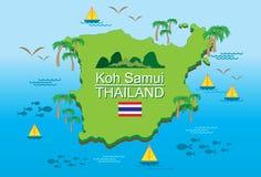 Νησί Ταϊλάνδη koh-Samui Στοκ Εικόνα