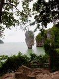 Νησί Ταϊλάνδη Phuket του James Bond στοκ εικόνα