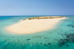 Νησί της Αιγύπτου κοντά σε Hamata Στοκ εικόνες με δικαίωμα ελεύθερης χρήσης
