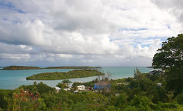 Νησί της Αντίγκουα και ακτή - Άγιος John ` s - Αντίγκουα και Μπαρμπούντα Στοκ φωτογραφίες με δικαίωμα ελεύθερης χρήσης
