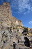 Νησί της Ελλάδας, Λέσβος, Mithimna στοκ φωτογραφίες με δικαίωμα ελεύθερης χρήσης