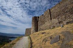 Νησί της Ελλάδας, Λέσβος, Mithimna στοκ εικόνες