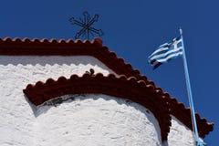 Νησί της Ελλάδας, Λέσβος, Skala Sykaminia στοκ φωτογραφία με δικαίωμα ελεύθερης χρήσης
