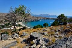 Νησί της Ελλάδας, Ρόδος στοκ εικόνα με δικαίωμα ελεύθερης χρήσης