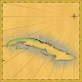 νησί της Κούβας διανυσματική απεικόνιση