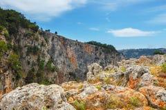 νησί της Κρήτης Ελλάδα Στοκ Εικόνα