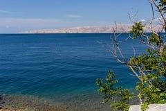 νησί της Κροατίας ακτών rab δύσκολο στοκ εικόνες με δικαίωμα ελεύθερης χρήσης