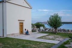νησί της Κροατίας ακτών rab δύσκολο στοκ φωτογραφία με δικαίωμα ελεύθερης χρήσης