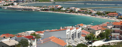 νησί της Κροατίας pag Στοκ Φωτογραφίες