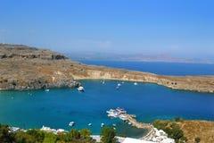 Νησί της Ρόδου, Ελλάδα Στοκ εικόνες με δικαίωμα ελεύθερης χρήσης