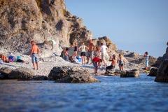 Νησί της Gotland στη θάλασσα της Βαλτικής Στοκ Φωτογραφίες