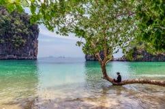 Νησί της Hong, ένα νησί παραδείσου στην Ταϊλάνδη στοκ φωτογραφία με δικαίωμα ελεύθερης χρήσης