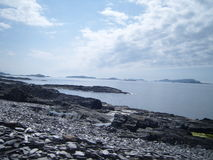 Νησί του παράκτιου τοπίου Luing Στοκ Εικόνες