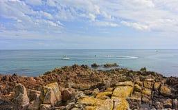Νησί του Τζέρσεϋ Στοκ Φωτογραφίες