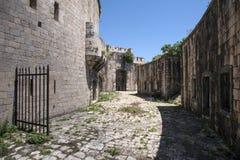 Νησί του φρουρίου Mamula, η είσοδος στον κόλπο Boka Kotorska, Μαυροβούνιο Στοκ Εικόνα