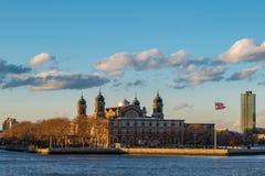 Νησί του Ellis από την πλευρά Στοκ Εικόνες