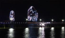 Νησί του Phoenix τή νύχτα Στοκ εικόνες με δικαίωμα ελεύθερης χρήσης