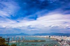 Νησί του Phoenix Sanya Πρόεδρος Resort Apartment, Hainan Sheng, S Στοκ Φωτογραφία
