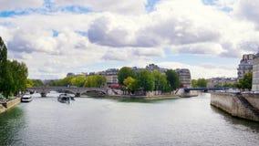 Νησί του Saint-Louis, Παρίσι, Γαλλία Στοκ εικόνες με δικαίωμα ελεύθερης χρήσης