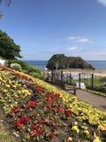 Νησί του ST Catherine, Tenby, pembroke, Ουαλία στοκ φωτογραφίες